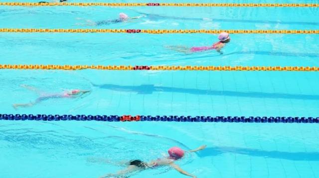 马鞍山市第十二届市运会(中小学组)游泳比赛圆满结束