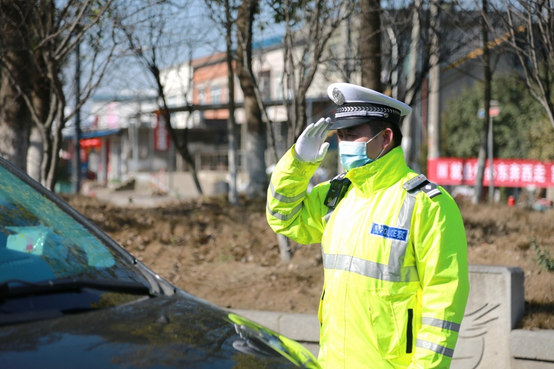 文明创建不止步 交通整治不停歇 市交警支队多措并举保障道路交通安全文明有序