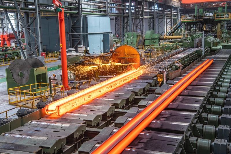 国内首条重型H型钢在马钢实现量产