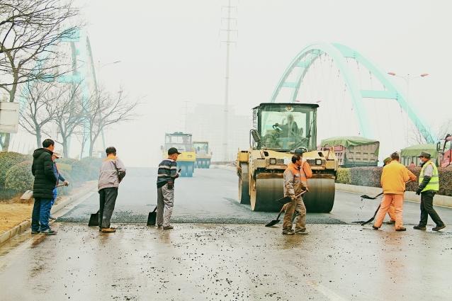 湖东南路采东桥预计1月31日通车