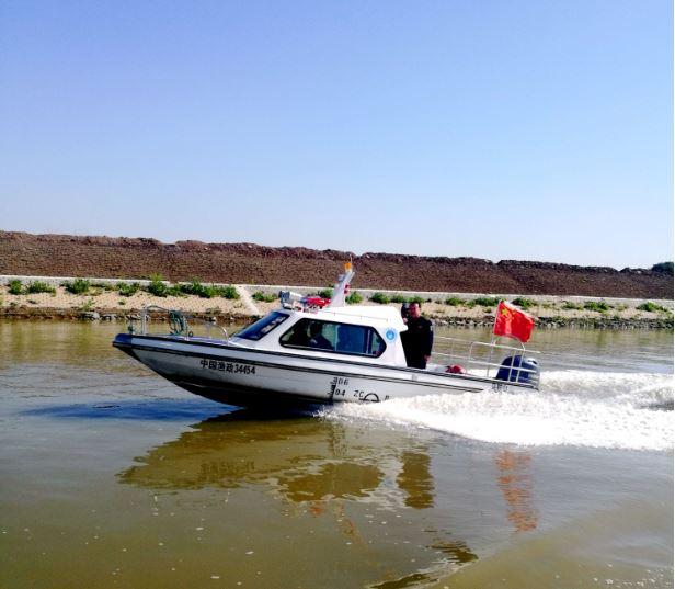含山县开展非法捕捞专项整治